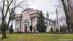 Kościół Wieruszów Podzamcze