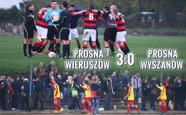 Mecz derbowy Prosna Wieruszów - Prosna Wyszanów